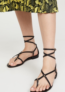 3.1 Phillip Lim Louise Strappy Flat Sandals