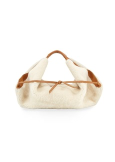 3.1 Phillip Lim Luna Mini Slouchy Shearling Tote Bag