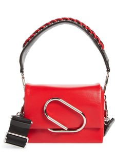 3.1 Phillip Lim Micro Alix Sport Flap Leather Shoulder Bag
