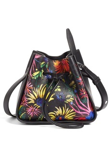 3.1 Phillip Lim Mini Soleil Print Leather Bucket Bag