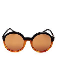 3.1 Phillip Lim Mirrored Round Sunglasses, 51mm