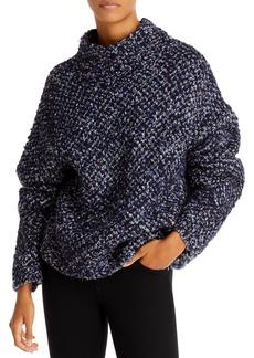 3.1 Phillip Lim Mock Neck Boucl� Sweater