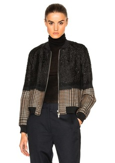 3.1 phillip lim Needle Punch Bomber Jacket