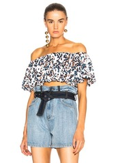 3.1 phillip lim Off Shoulder Crepe Top