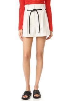 3.1 Phillip Lim Origami Pleated Shorts