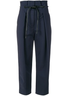 3.1 Phillip Lim Origami-Pleated trousers - Blue