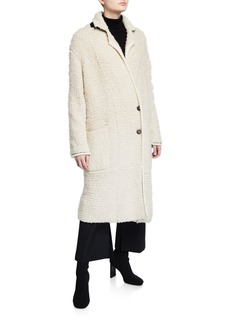 3.1 Phillip Lim Oversized Boucle Cardigan Coat