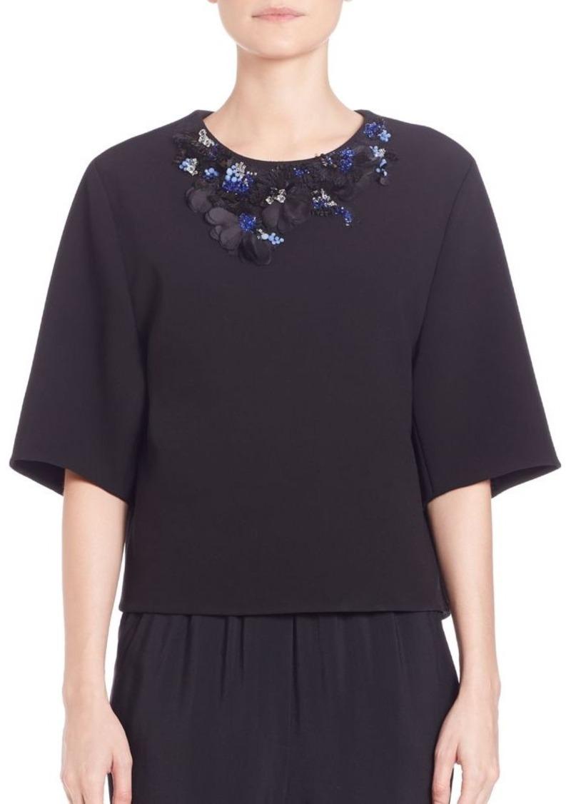 3.1 Phillip Lim Oversized Embellished Top