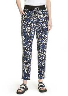 3.1 Phillip Lim Painted Dot Silk Track Pants