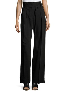 3.1 Phillip Lim Paper Bag High-Waist Wide-Leg Pants