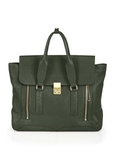 3.1 Phillip Lim Pashli Large Leather Satchel