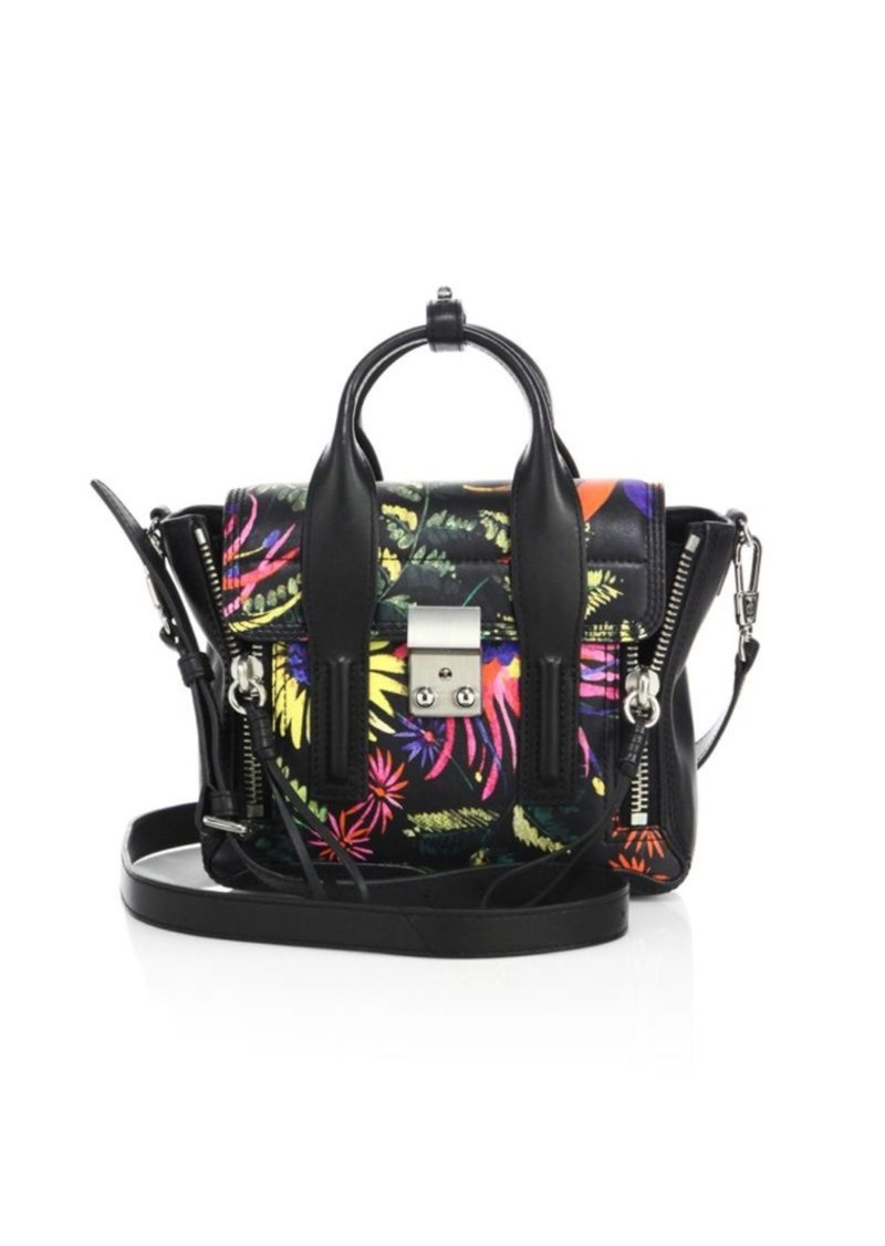 3.1 Phillip Lim Pashli Mini Printed Satchel