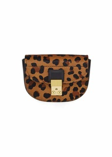 3.1 Phillip Lim Pashli Mini Saddle Leopard Belt Bag