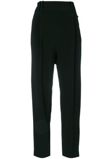 3.1 Phillip Lim pleated cropped trousers - Black