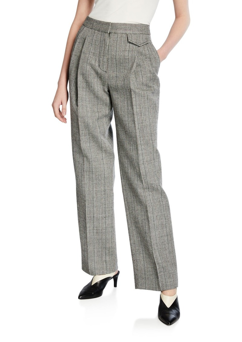3.1 Phillip Lim Pleated Tweed Pants