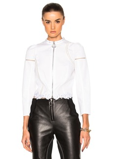 3.1 phillip lim Poplin Victoriana Shirt Jacket