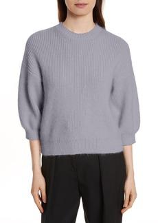 3.1 Phillip Lim Puff Sleeve Wool & Mohair Blend Sweater