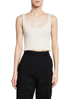 3.1 Phillip Lim Ribbed Crop Tank