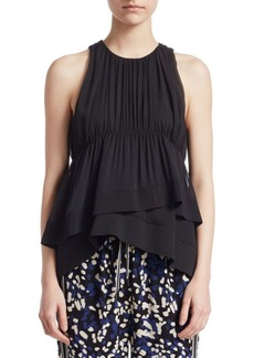 3.1 Phillip Lim Ribbed Silk Tank
