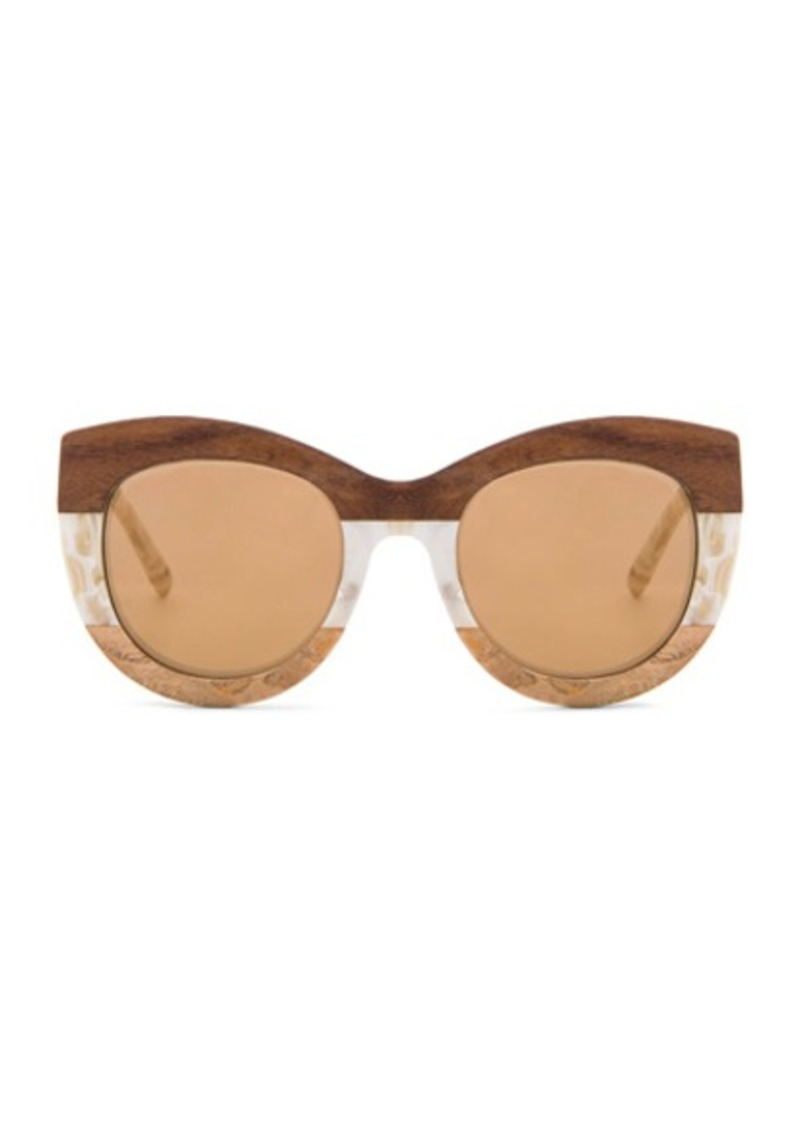 3.1 phillip lim Rounded Sunglasses