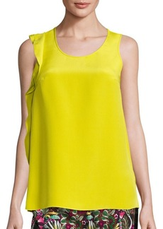 3.1 Phillip Lim Ruffle Silk Tank Top