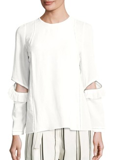 3.1 Phillip Lim Ruffled Zip Detail Top