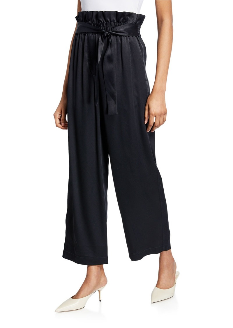 3.1 Phillip Lim Satin Cropped Ankle Pants