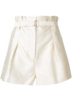3.1 Phillip Lim Satin Origami shorts - White