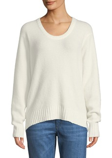 3.1 Phillip Lim Scoop-Neck Alpaca-Blend Pullover Sweater
