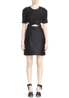 3.1 Phillip Lim Sequin Embellished Cutout Dress