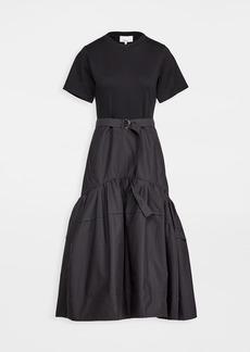 3.1 Phillip Lim Short Sleeve Belted Tee Dress
