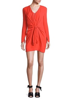 3.1 Phillip Lim Silk Tie-Front Dress