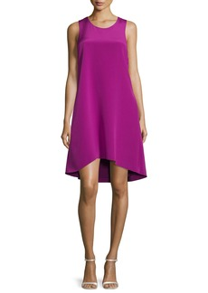 3.1 Phillip Lim Sleeveless Ruffle-Trim Silk Shift Dress