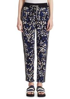 Slim Drawstring Pants