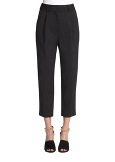 Straight Leg Cropped Pants