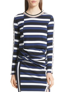 3.1 Phillip Lim Stripe Crop Tee