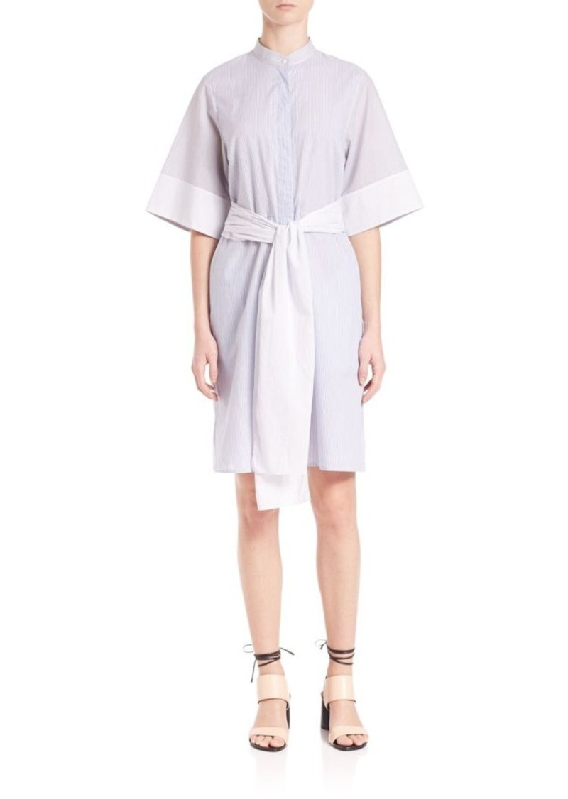 3.1 Phillip Lim Striped Button Down Dress