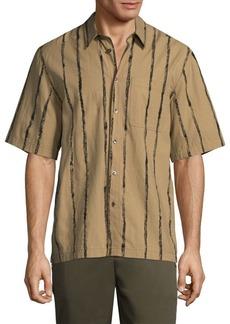 3.1 Phillip Lim Striped Button-Front Shirt