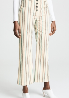 3.1 Phillip Lim Striped Kick Flare Pants