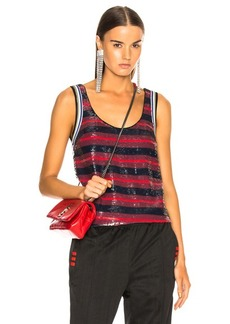 3.1 phillip lim Striped Sequin Top