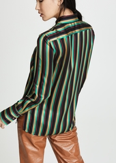 3.1 Phillip Lim Striped Shirt with Pocket
