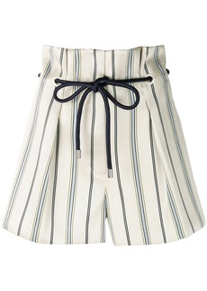 3.1 Phillip Lim striped shorts - Nude & Neutrals
