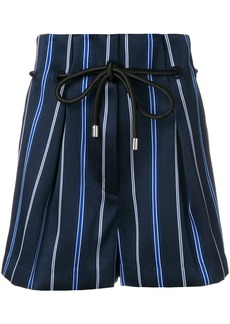 3.1 Phillip Lim striped tailored shorts - Blue