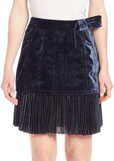 3.1 Phillip Lim Sunburst Pleated Sculpted Skirt