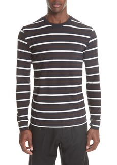 3.1 Phillip Lim Technical Stripe Long Sleeve T-Shirt