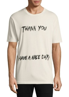 3.1 Phillip Lim Thank You Graphic Tee