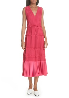 3.1 Phillip Lim Tiered Pleated Dress