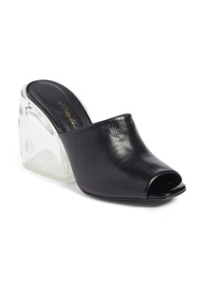 3.1 Phillip Lim Transparent Wedge Slide Sandal (Women)