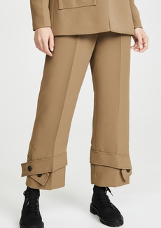 3.1 Phillip Lim Trousers with Belted Cuff Pants