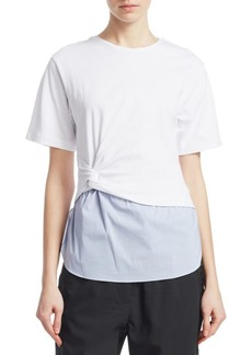 3.1 Phillip Lim Twisted T-Shirt